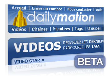 Bêta Dailymotion